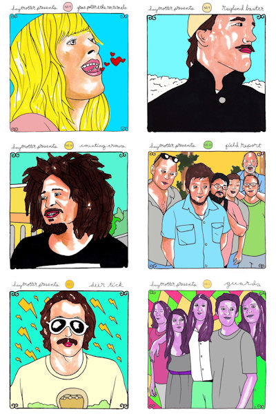 Daytrotter Presents Vinyl No. 9, 10 and 11