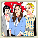 Dana Falconberry's Favorite Daytrotter Songs playlist featuring The Shivers, Nina Nastasia, Shelley Short, Inlets
