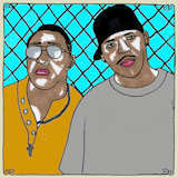 G-Side's Favorite Daytrotter Songs playlist featuring Trombone Shorty & Orleans Avenue, Main Attrakionz, Danny Brown, Naughty By Nature (Featuring Solid Gold)
