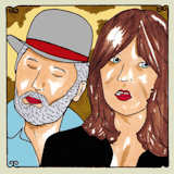 Wreckless Eric & Amy Rigby - Moments That Sneak - Jan 15, 2013