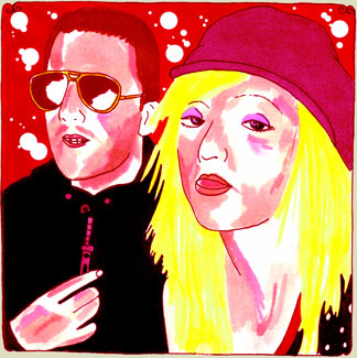 The Ting Tings Daytrotter Session, Big Orange Studios Austin, TX May 13, 2008