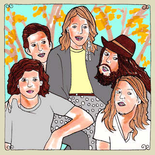 Grouplove Daytrotter Session, Big Orange Studios Austin, TX Aug 18, 2011