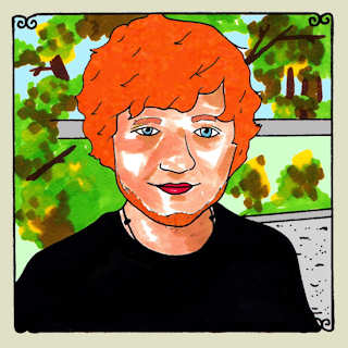 Ed Sheeran Daytrotter Session, Daytrotter Studio Rock Island, IL Jan 7, 2013