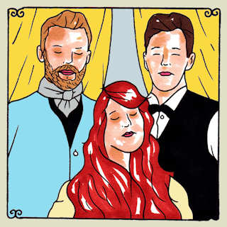 The Lone Bellow Daytrotter Session, Good Danny's Austin, TX May 15, 2013