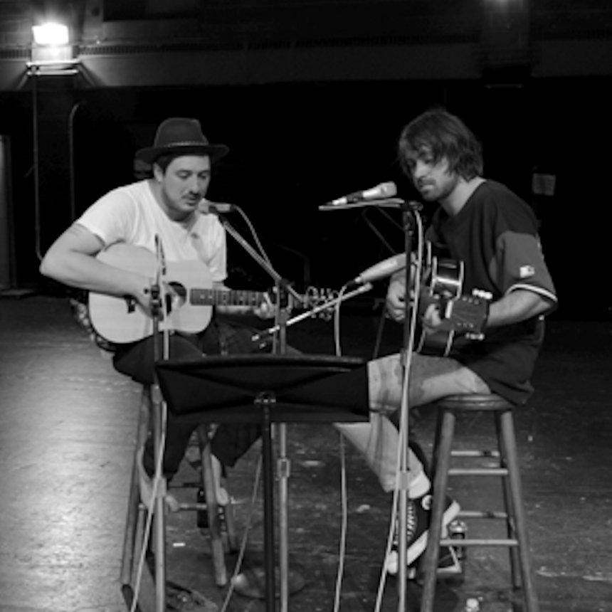 Marcus Mumford & Justin Hayward-Young