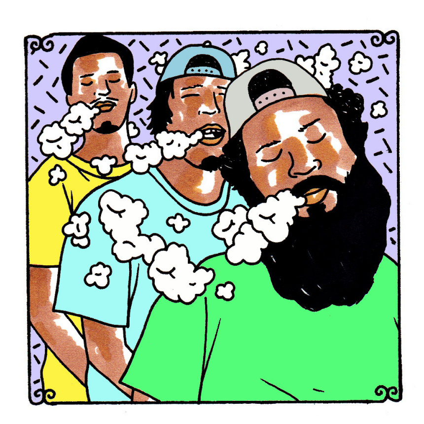 Flatbush Zombies - Jul 25, 2013