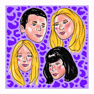 Sep 21, 2016 Daytrotter Studios Davenport, IA by Death Valley Girls