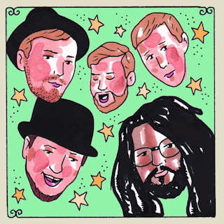 May 12, 2014 Daytrotter Studio Rock Island, IL by Dirty Bourbon River Show
