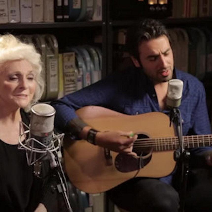 Judy Collins and Ari Hest