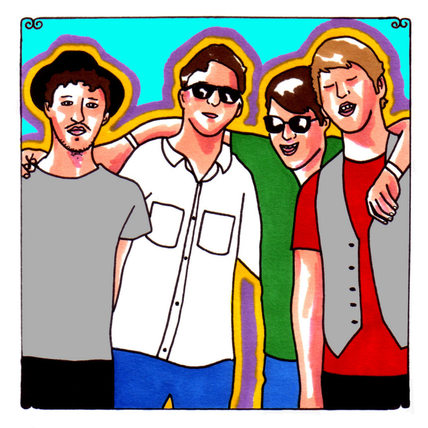 The Postelles Daytrotter Session 07/27/2010 :: Music :: Audio